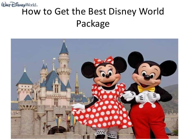 How to Get the Best Disney World Package