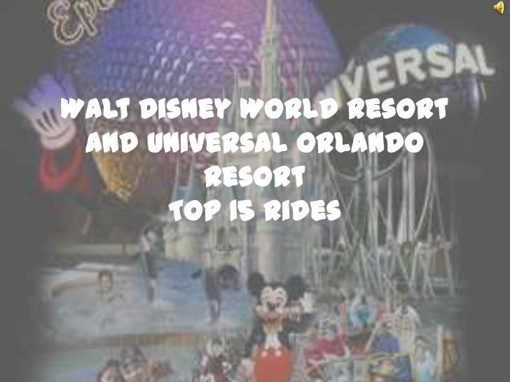the top 15 rides in walt disney world and universal orlando