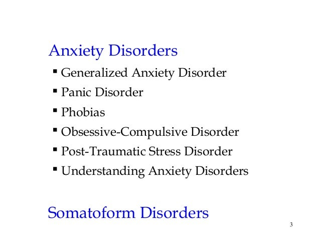 Essay generalized anxiety disorder