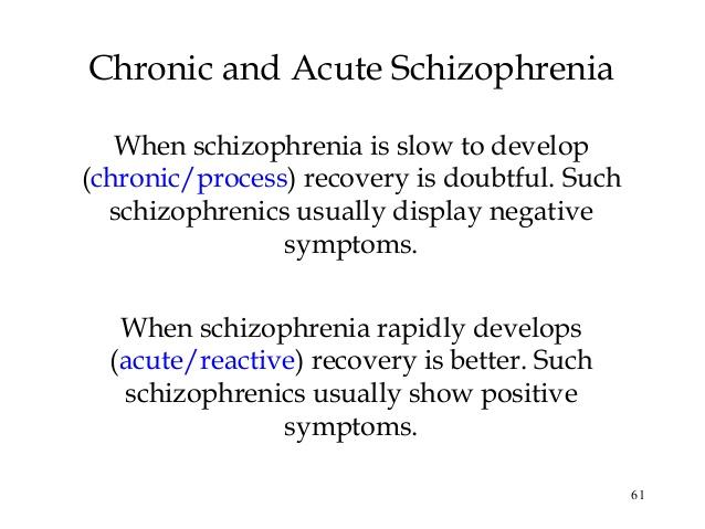 schizophrenia essay thesis