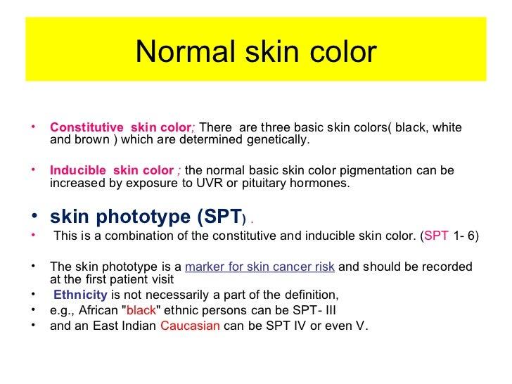 Normal Skin Color Normal Skin Color