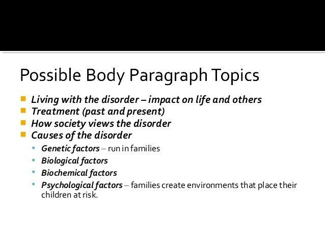 Expository Analysis Essay Topics