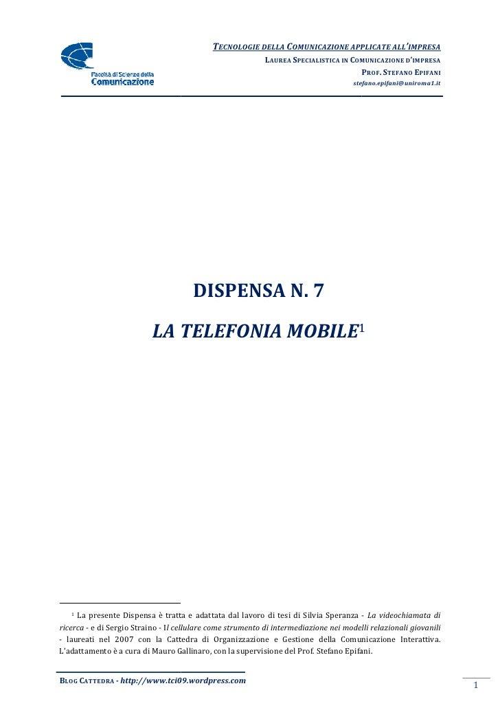 TECNOLOGIE DELLA COMUNICAZIONE APPLICA ALL'IMPRESA                                                                        ...