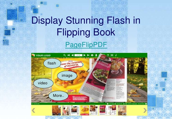 Display Stunning Flash in      Flipping Book                     PageFlipPDF         flash                 image video    ...