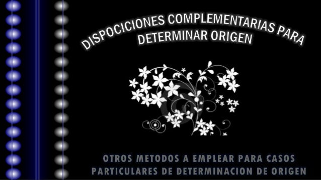 ETERMINACIONDEORIGEN OPERACIONES O PROCESOS MINIMOS