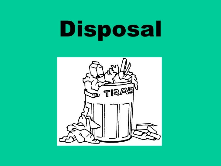 Disposal pp