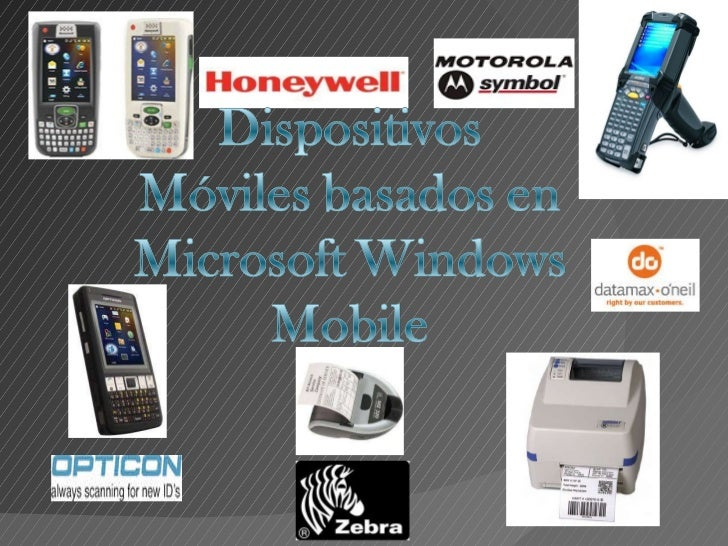 Dispositivos moviles