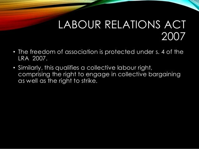labour relations essay Labor relations specialists interpret and administer labor contracts regarding issues such as wages and salaries, healthcare, pensions, and union practices.