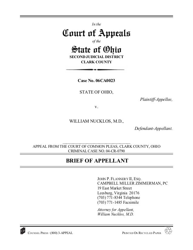 In the                       Court of Appeals                                        of the                             St...
