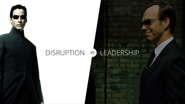 Disruption and the Future of Leadership