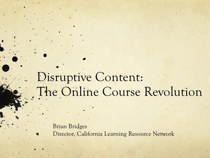 Disruptive content
