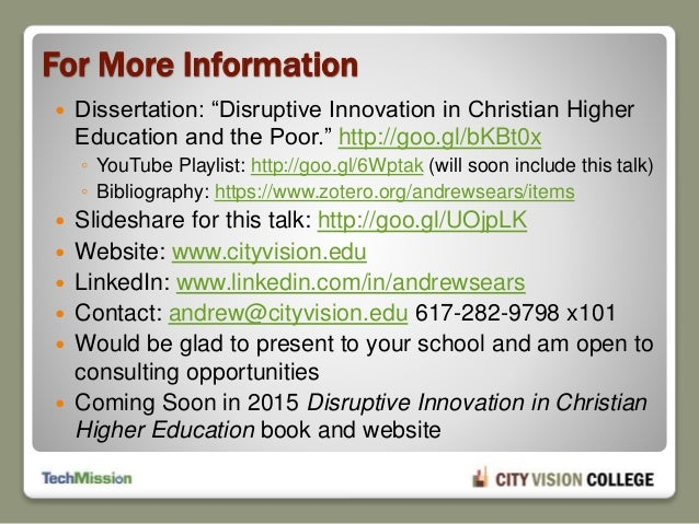 dissertation southern christian university Dissertation southern christian university prospectus the initial stage of the dissertation process is the  they can submit it to the doctoral studies office for it to be.