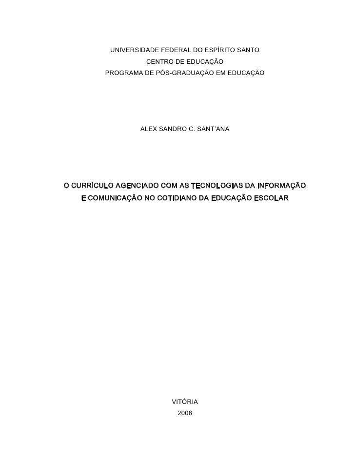 UNIVERSIDADEFEDERALDOESPÍRITOSANTO                    CENTRODEEDUCAÇÃO          PROGRAMADEPÓSGRADUAÇÃOEMEDUCA...