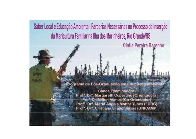 Dissertacao de cintia barenho saber local e educacao ambiental