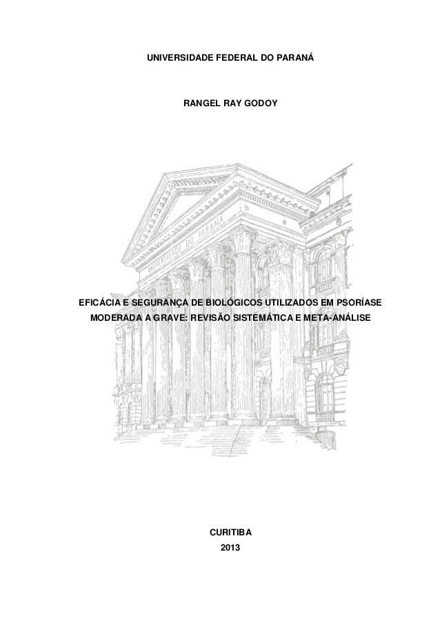 Dissertação rangel r. godoy