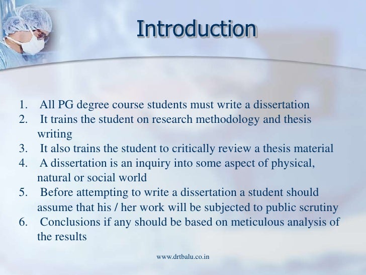 write dissertation introduction Writing a dissertation introduction for you, our writers are going to include: aims and objectives of your research and all the necessary explanations to define the.