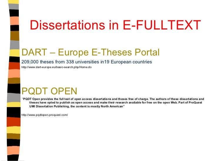 umi dissertation publication
