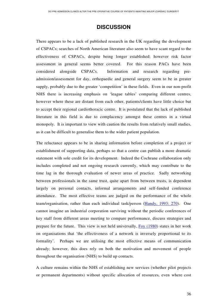 Dissertation course