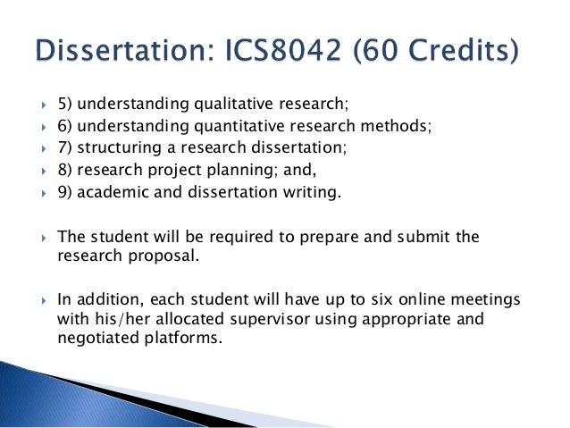 Writing a qualitative dissertation