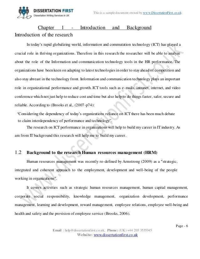 Communication dissertation