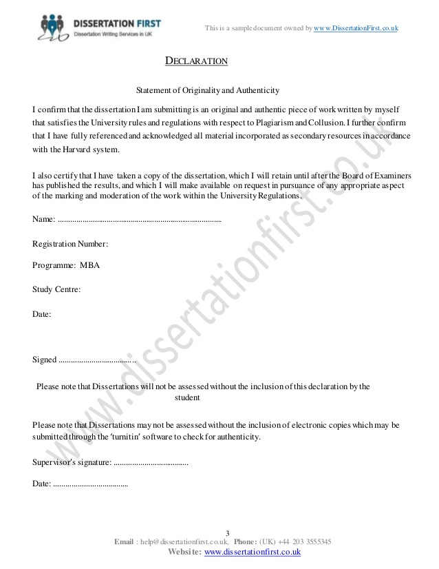 Quality Dissertation Assignment - Facebook