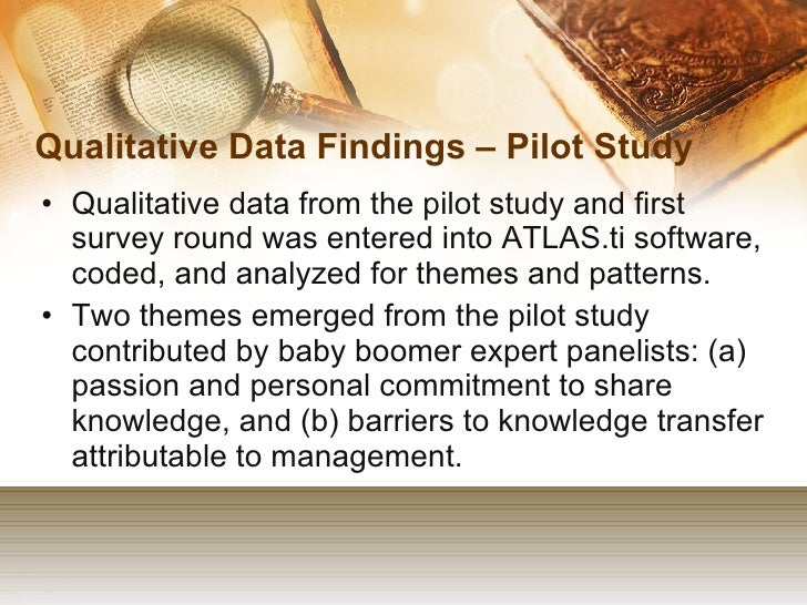 Data findings dissertation