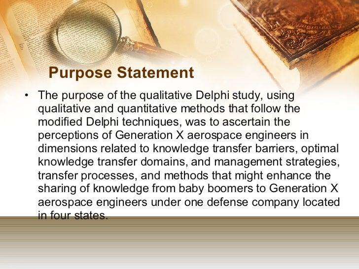 Dissertation statement of purpose