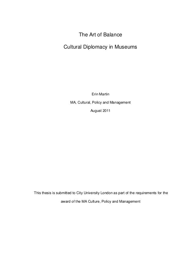 Thesis and dissertation 2011