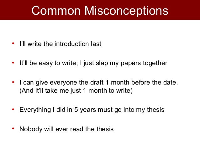 Write Your PhD Thesis In One Month Or Less | The Grad