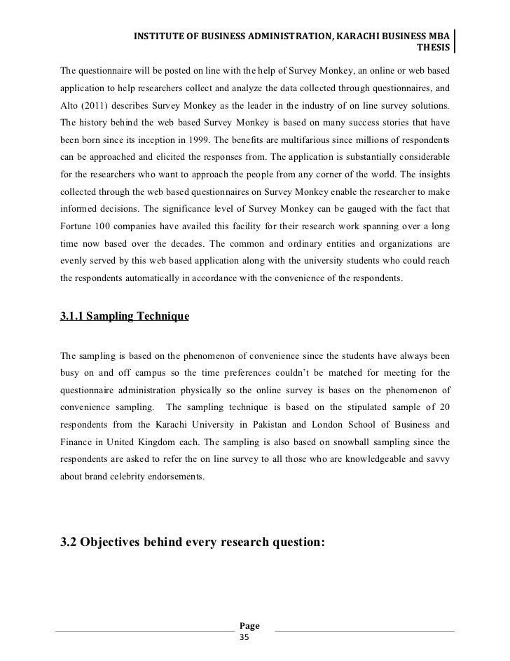 Dissertation survey monkey
