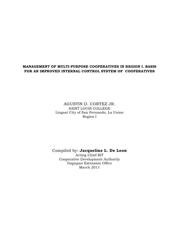 Dissertation on educational management