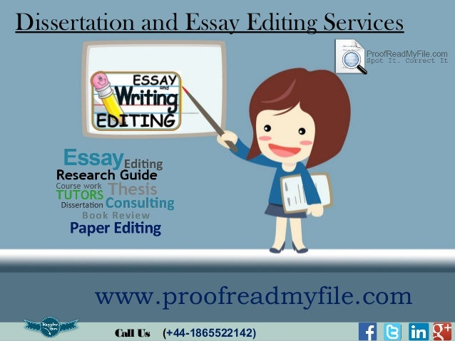 Dissertation chapter proofreading websites us