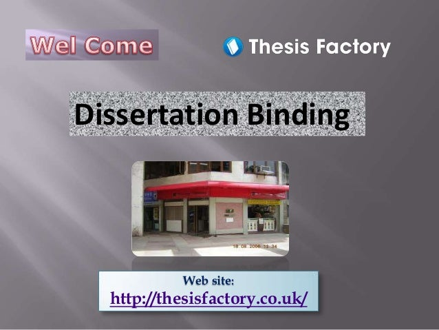 university of manchester thesis binding