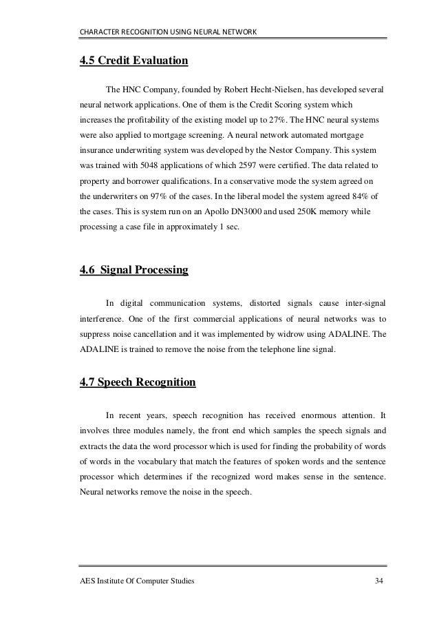 Dissertation evaluation