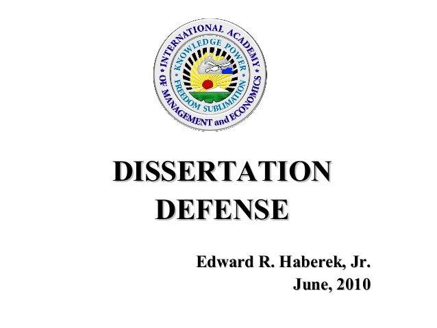 Dissertation defense 52510 final