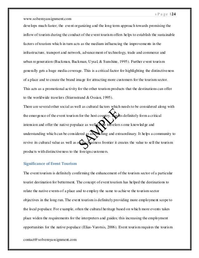 Dissertation dubai tourism