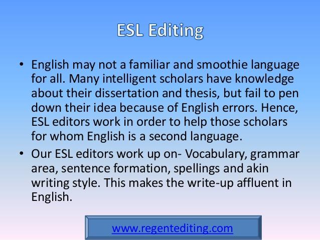 Dissertation Editing - Proof-Reading com