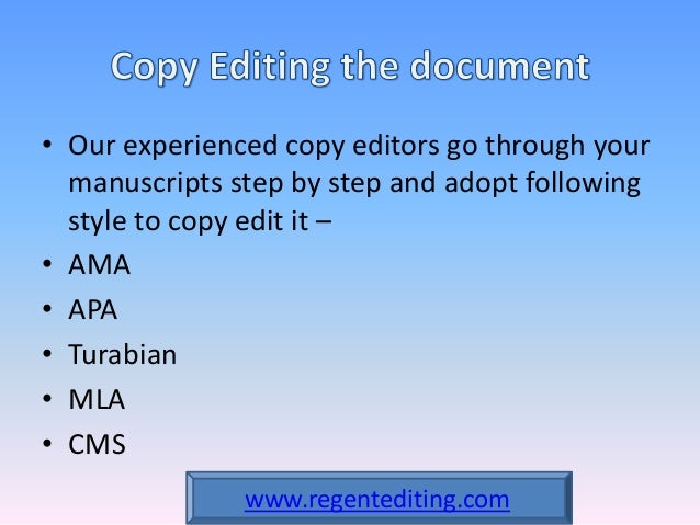 Editing an expository essay