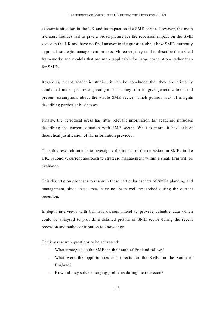 Dissertation msc biotech