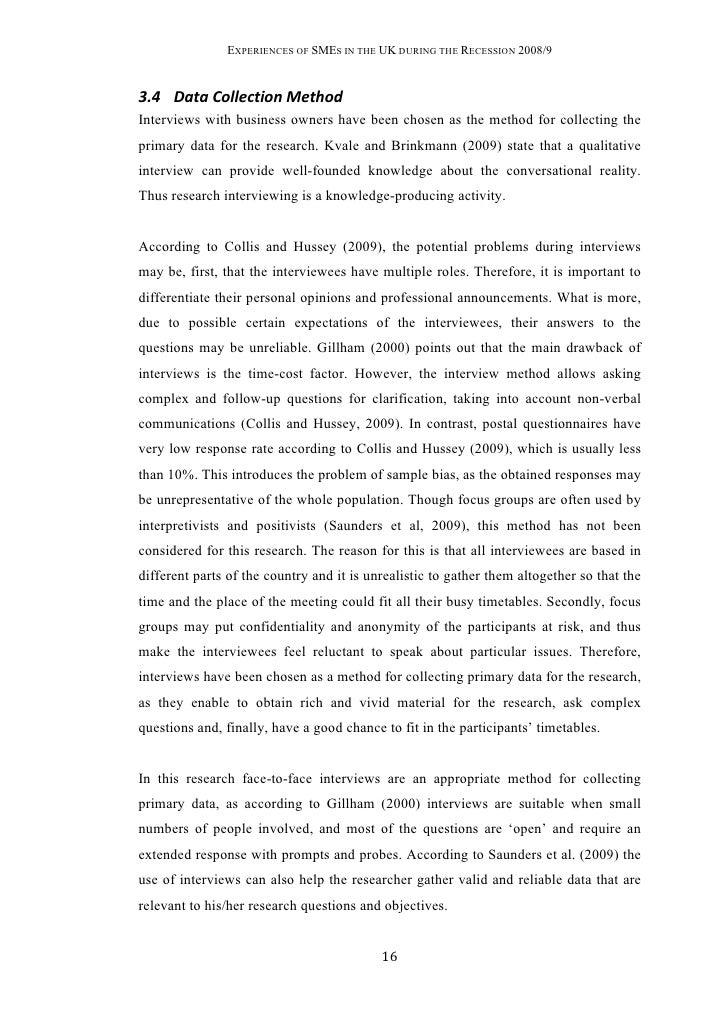 analyse interviews dissertation Predictably, the thesis of such a paper is usually an assertion that a and b are  very similar yet not so similar after all to write a good compare-and-contrast.