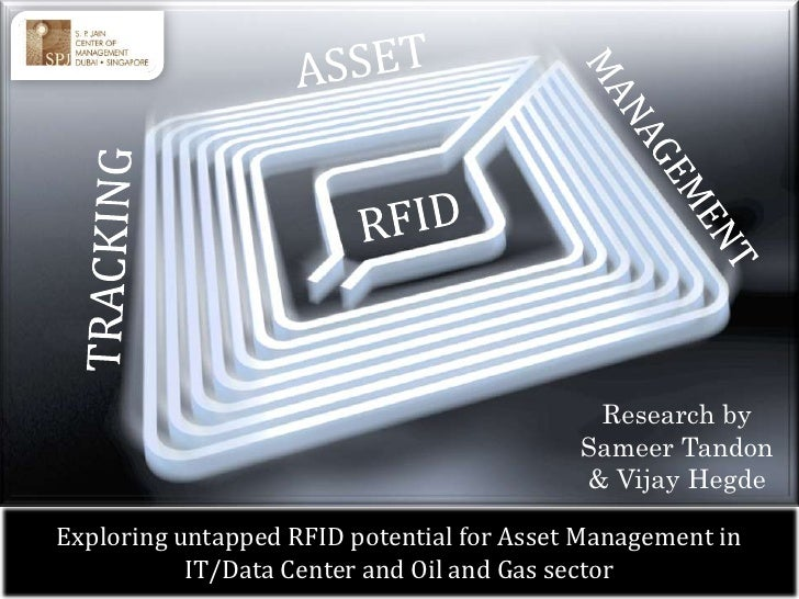 Asset Tracking And Management Using Rfid For It