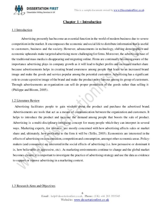 literature review on effect of advertising on sale Review of literature on sales promotional activities advertising  the literature review the effects of september 11 attacks on pakistan's textile trade.