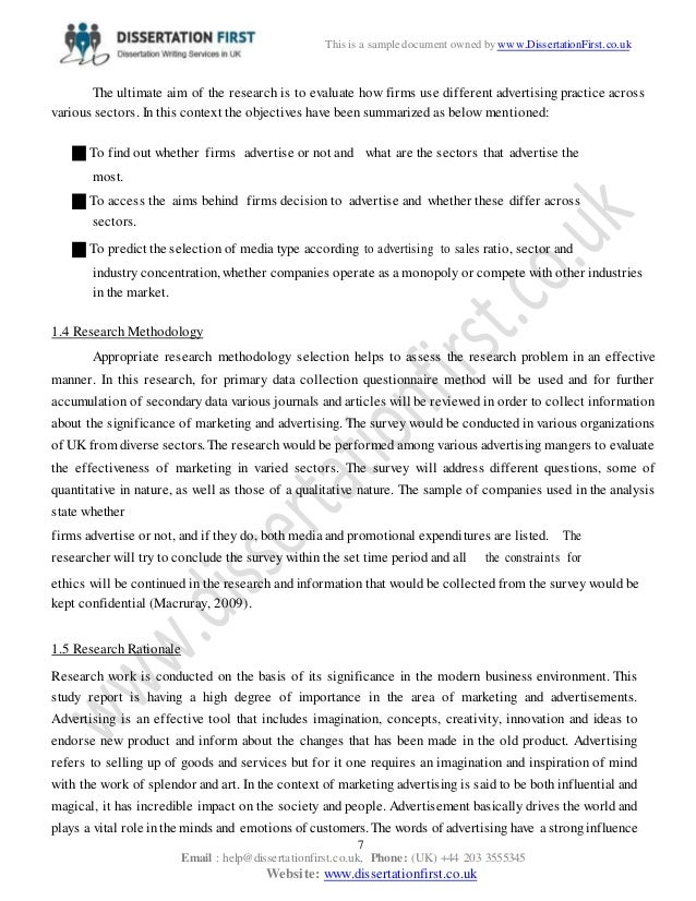 dissertation questions shock advertising 234 shock advertising 43 24 literature conclusion 47 3 methodology 49 31 methodology introduction 49 better answer the research questions, analyze the.