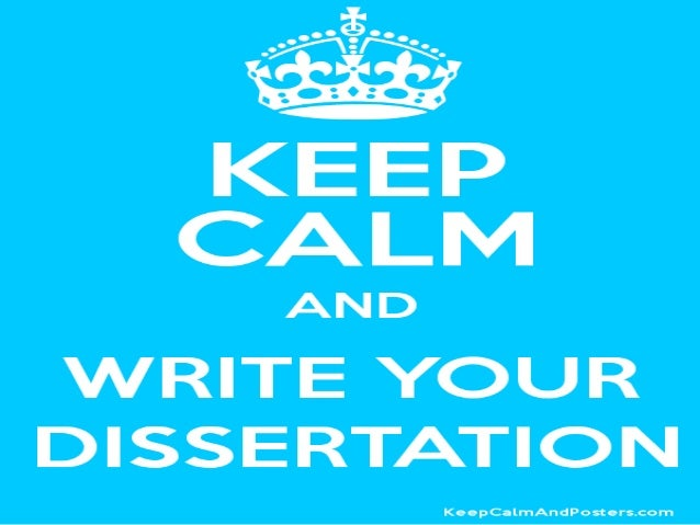 Writing Dissertation Quickly