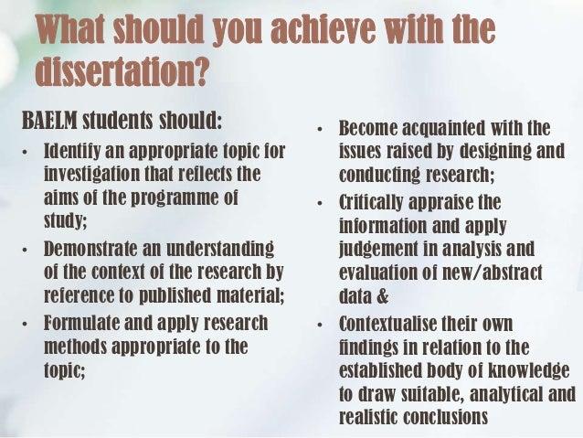 Dissertation data meeting