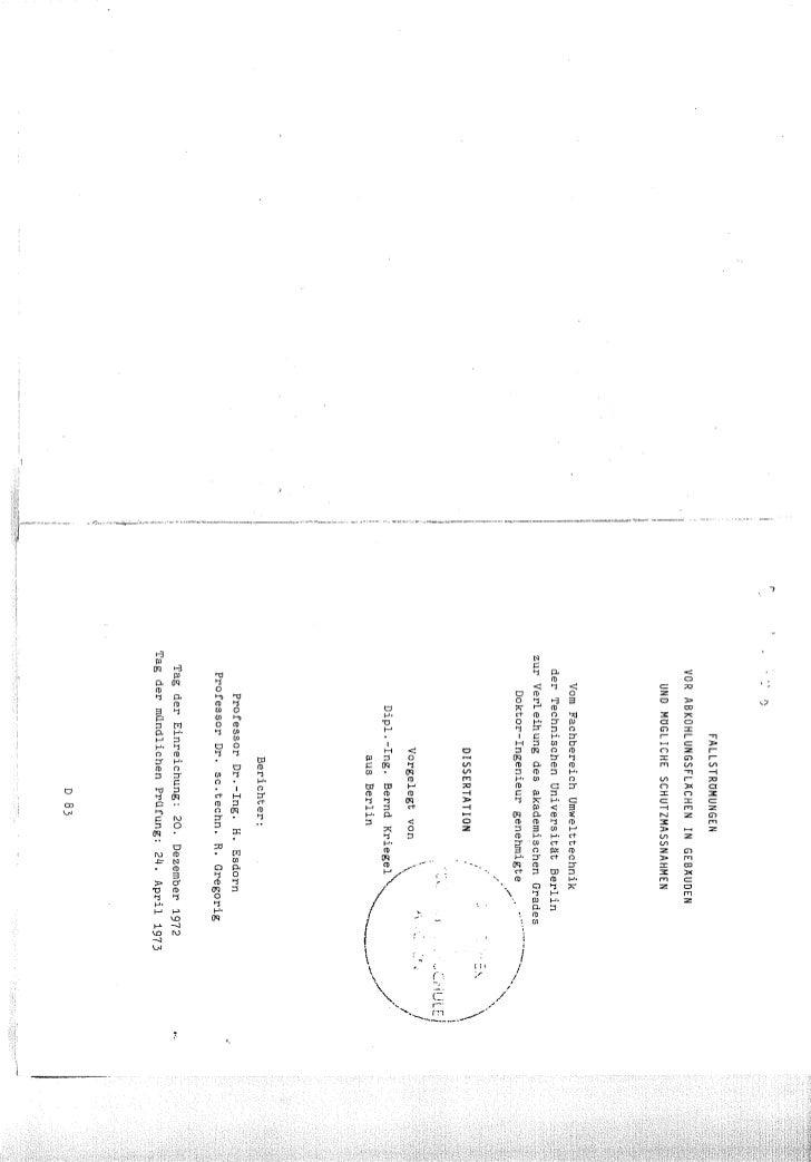 Dissertation kriegel