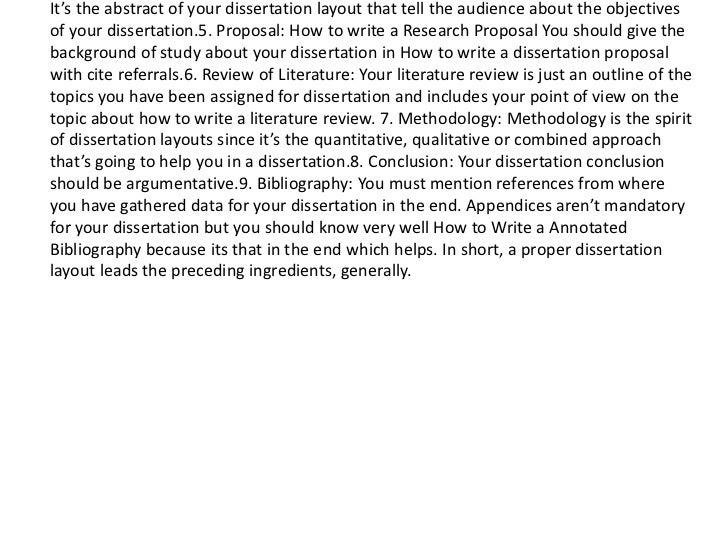 Abstract Dissertation International