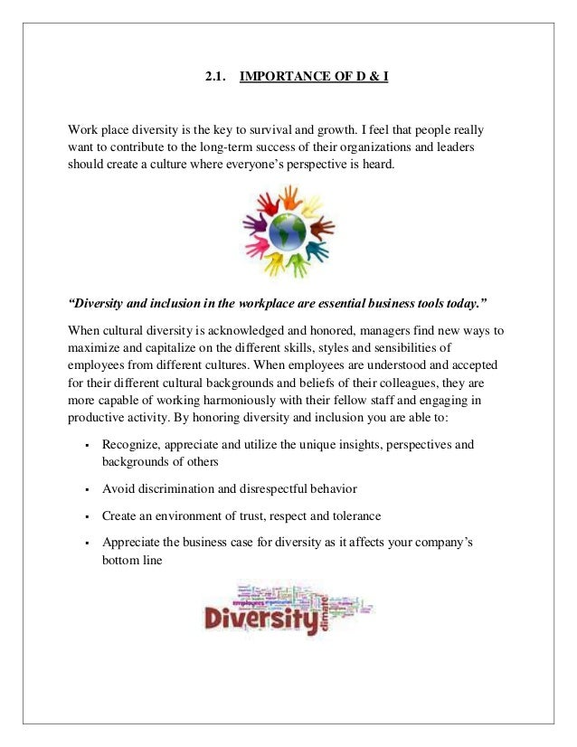 Dissertation on inclusion