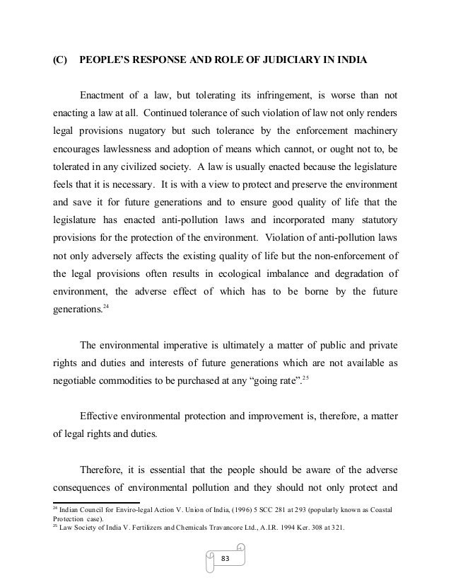 environmental law dissertation We are facing environmental challenges and addressing these needs effective legal and policy tools develop the skills to pursue a career in this exciting area.