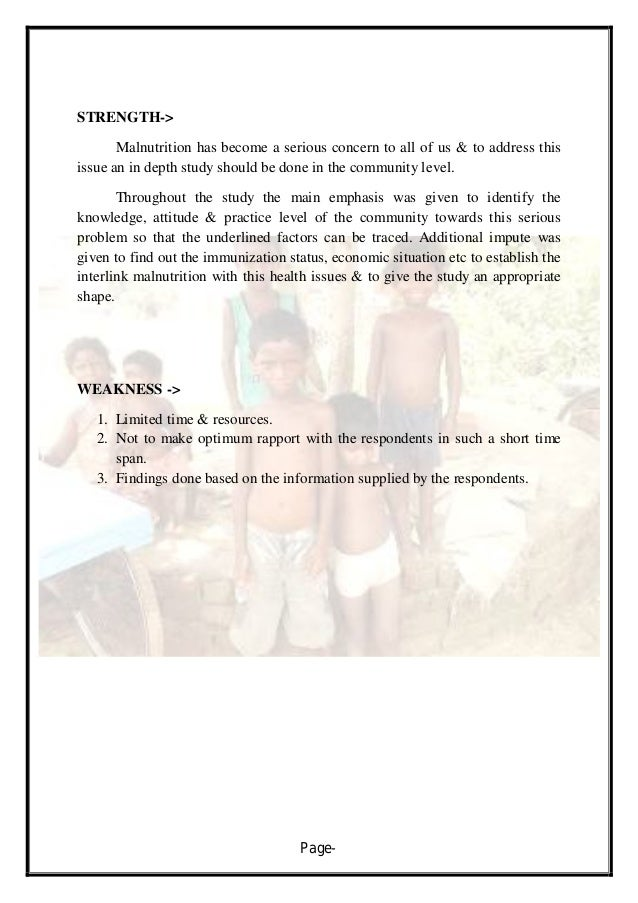 malnutrition disease process essay Nutrition the government of ethiopia has committed to halve by 2015, child under-five malnutrition (mdg 1) and mortality (mdg 4) which is already achieved three years ahead.